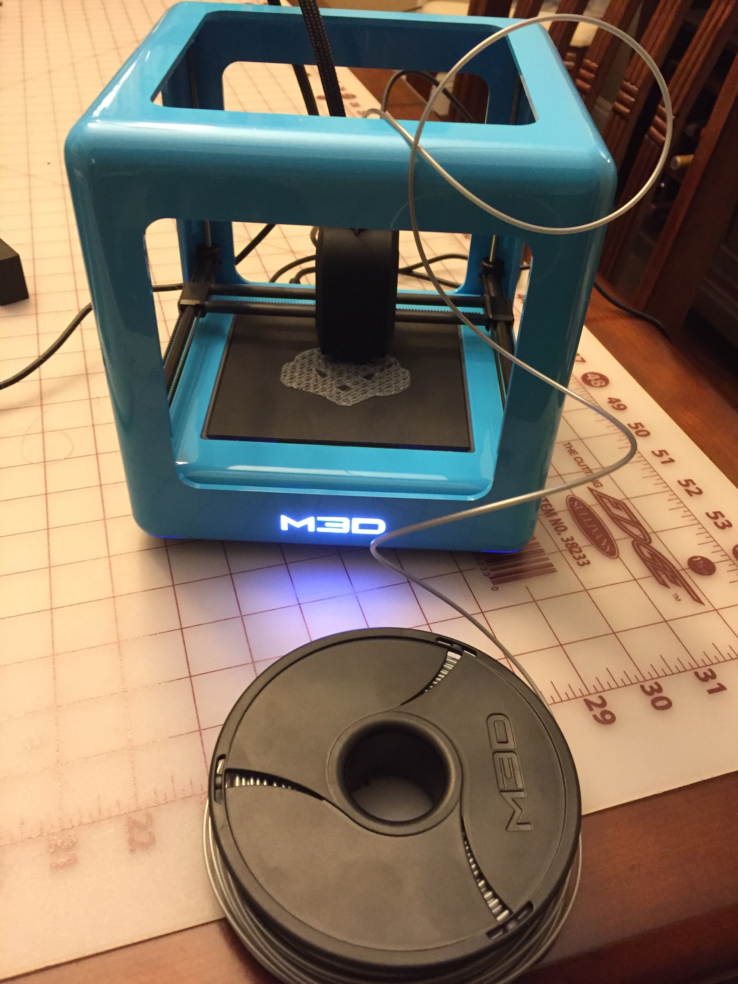 Printing with the new M3D